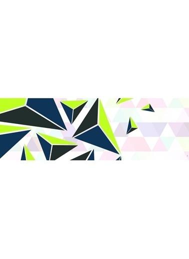 Artikel Geometrik Desenler Runner Masa Örtüsü 43,5x141,5cm Renkli